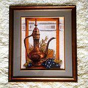 """Картины ручной работы. Ярмарка Мастеров - ручная работа Натюрморт  """"Восточный"""". Handmade."""