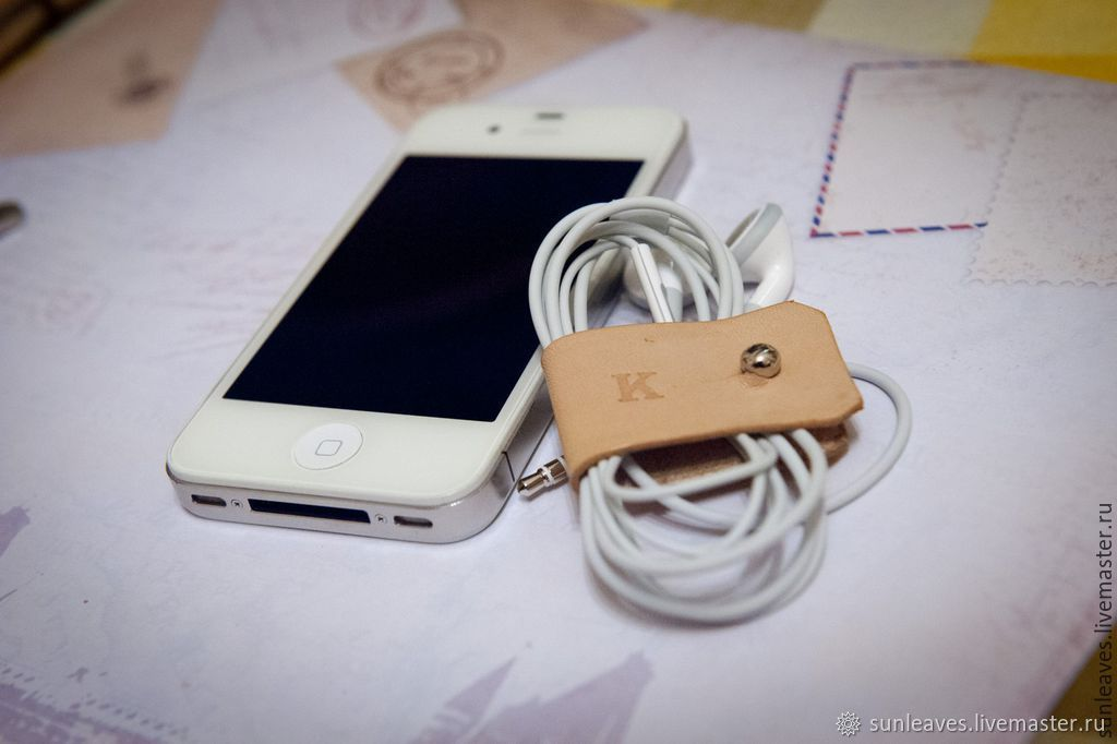 Organizer for wires and headphones, Home gadgets, St. Petersburg,  Фото №1