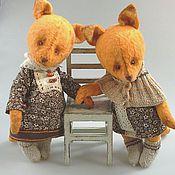 Куклы и игрушки ручной работы. Ярмарка Мастеров - ручная работа Лисичка 2 друг Тедди. Handmade.