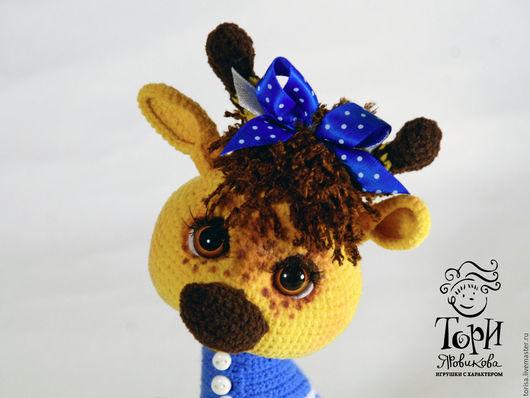 Игрушки животные, ручной работы. Ярмарка Мастеров - ручная работа. Купить Жирафа Жирафетта. Handmade. Жираф, игрушка в подарок
