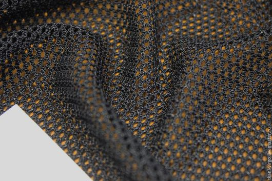 Шитье ручной работы. Ярмарка Мастеров - ручная работа. Купить Сетка MAX MARA цвет черный (пэ 100%),сетка мягкая,ячейка 3мм. Handmade.