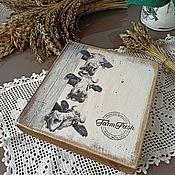 Посуда handmade. Livemaster - original item Cutting boards: Funny cows. Handmade.