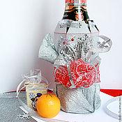 """Упаковка ручной работы. Ярмарка Мастеров - ручная работа Упаковка для шампанского  """"Зимний лес"""". Handmade."""
