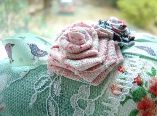 Куклы Тильды ручной работы. Ярмарка Мастеров - ручная работа. Купить Сердце тильда. Handmade. Морская волна, мятный, весна