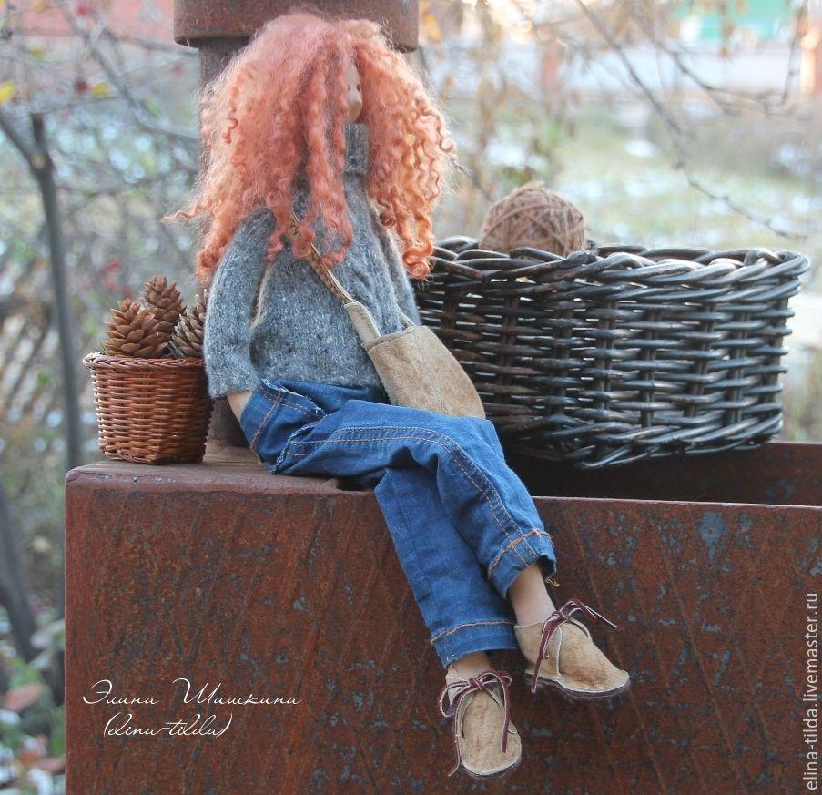 Рыжие джинсы с доставкой