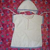 Работы для детей, ручной работы. Ярмарка Мастеров - ручная работа Крестильный комплект для мальчика. Handmade.