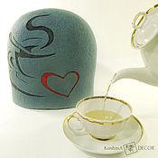 Для дома и интерьера handmade. Livemaster - original item The warmer kettle on for a cosy tea party. Handmade.