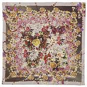 Материалы для творчества ручной работы. Ярмарка Мастеров - ручная работа 10165-2  павловопосадский шелковый платок. Handmade.