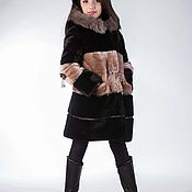 Работы для детей, handmade. Livemaster - original item Children`s mutton coat. Handmade.