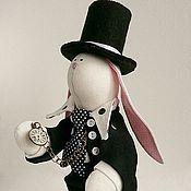 """Куклы и игрушки ручной работы. Ярмарка Мастеров - ручная работа Игрушка """"Белый кролик"""" ( """"Алиса в стране чудес""""). Handmade."""