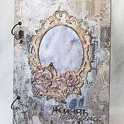 """Свадебный салон ручной работы. Ярмарка Мастеров - ручная работа Книга пожеланий """"Старинное зеркало"""". Handmade."""