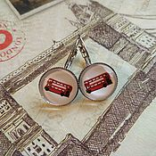 Украшения handmade. Livemaster - original item Bus earrings (earrings). Handmade.