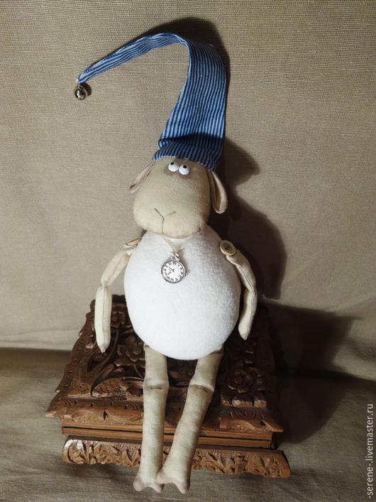 Куклы Тильды ручной работы. Ярмарка Мастеров - ручная работа. Купить Овечка Рассел. Handmade. Белый, овечка Тильда