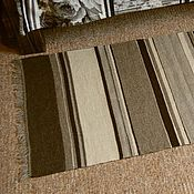 Для дома и интерьера ручной работы. Ярмарка Мастеров - ручная работа Домотканый коврик-полосатик. Handmade.