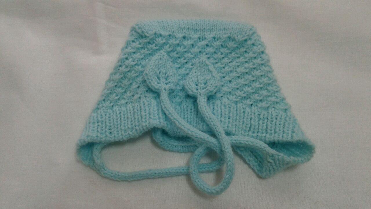 Для новорожденных, ручной работы. Ярмарка Мастеров - ручная работа. Купить Чепчик для новорожденного. Handmade. Вязание спицами