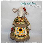 """Куклы и игрушки ручной работы. Ярмарка Мастеров - ручная работа Овечка """"Дуняша"""". Handmade."""