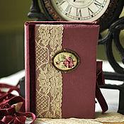 """Канцелярские товары ручной работы. Ярмарка Мастеров - ручная работа Блокнот ручной работы """"Английский стиль"""". Handmade."""