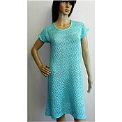 Одежда handmade. Livemaster - original item Tunic dress knit breeze. Handmade.