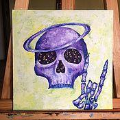 """Картины и панно ручной работы. Ярмарка Мастеров - ручная работа Картина маслом """"Heavy metal"""". Handmade."""