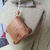 Аксессуары ручной работы. Ярмарка Мастеров - ручная работа Брелок оберег, кулон, привеска, погремушка из бересты. Handmade.