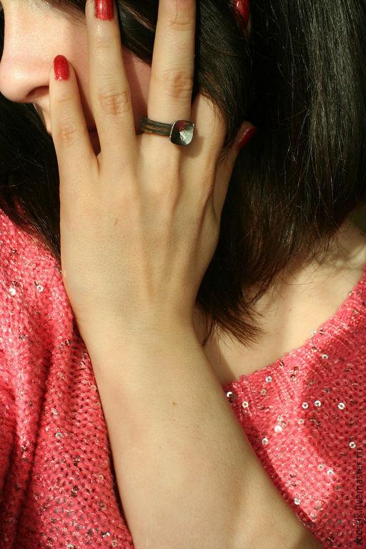 Кольца ручной работы. Ярмарка Мастеров - ручная работа. Купить Дубовые кольца. Handmade. Подарок девушке, свадьба, коричневый, берёза