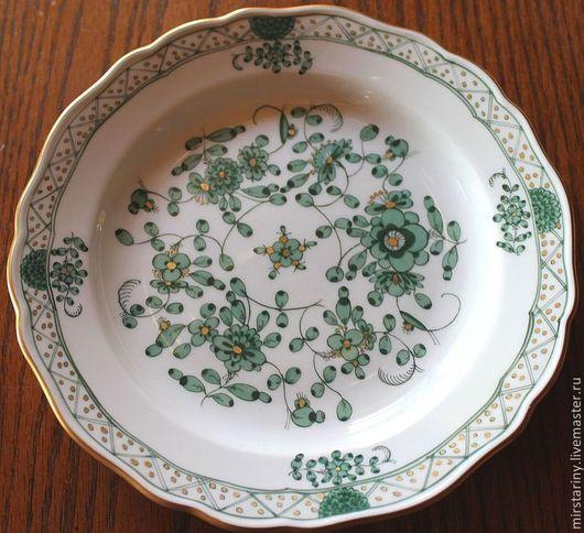 Винтажная посуда. Ярмарка Мастеров - ручная работа. Купить Красивая тарелка фирмы Мейсен (Meissen), Германия 50- годы. Handmade.
