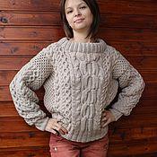 Одежда handmade. Livemaster - original item Sweater Ruban