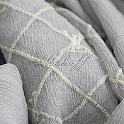 Аксессуары handmade. Livemaster - original item Silk scarf from Louis Vuitton