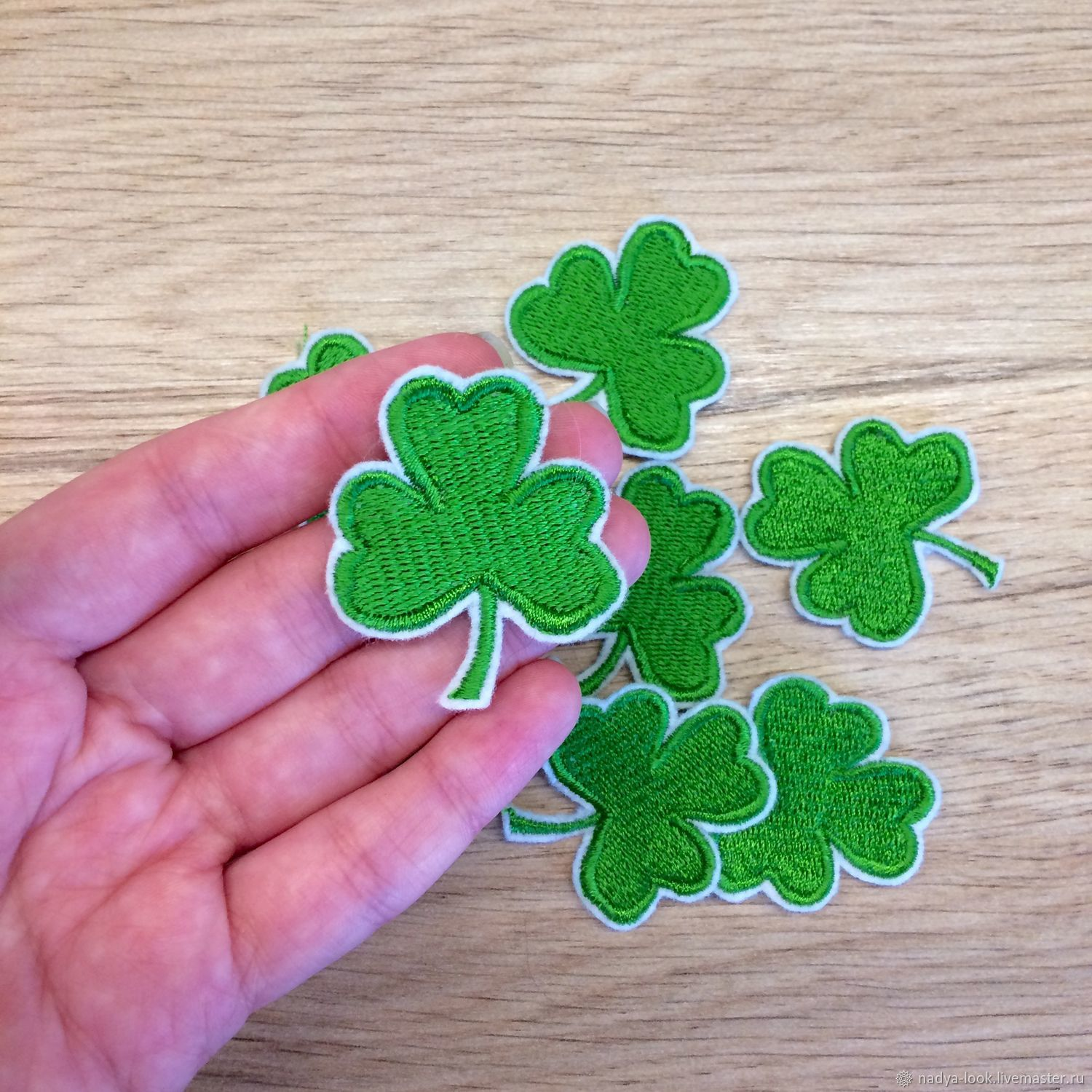 Patch 'Clover', Brooches, Omsk,  Фото №1