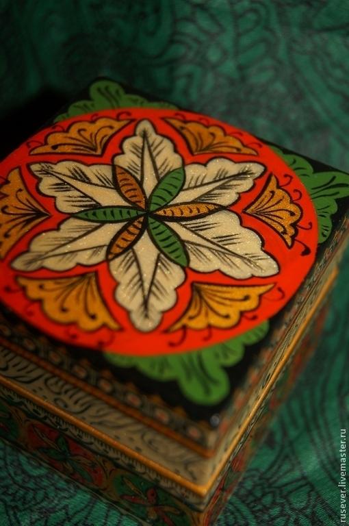 """Шкатулки ручной работы. Ярмарка Мастеров - ручная работа. Купить Шкатулка """"Византия"""". Handmade. Разноцветный, византия, подарок женщине, лак"""