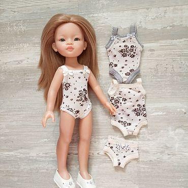 Куклы и игрушки ручной работы. Ярмарка Мастеров - ручная работа Одежда для кукол. Нижнее белье. Handmade.