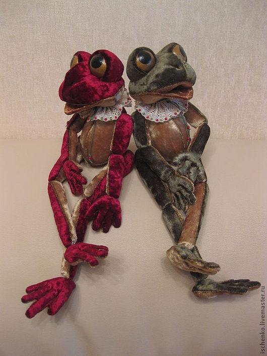 Игрушки животные, ручной работы. Ярмарка Мастеров - ручная работа. Купить Лягушки Дейзи и Зизи. Handmade. Лягушка, коллекционные игрушки