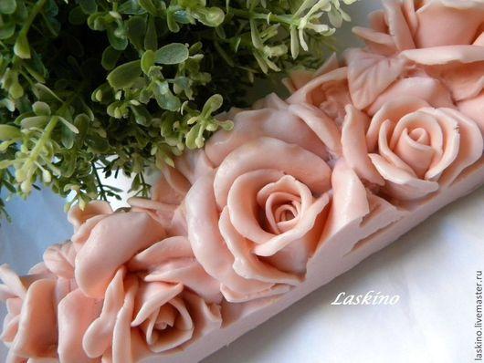 Мыло ручной работы. Ярмарка Мастеров - ручная работа. Купить РОЗАРИЙ (макси-розы), сувенирное мыло. Handmade. Розарий