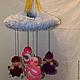Сказочные персонажи ручной работы. Ярмарка Мастеров - ручная работа. Купить оберег подвеска с ангелами. Handmade. Для детей, для девочки