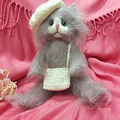 """Куклы и игрушки ручной работы. Ярмарка Мастеров - ручная работа Кот вязаный """"Барсик"""". Handmade."""