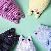 Куклы и игрушки handmade. Livemaster - original item Soft toy - a small striped cat with your mood. Handmade.