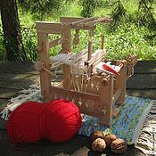 Русский стиль ручной работы. Ярмарка Мастеров - ручная работа Ткацкий станок игрушечный 1:5. Handmade.