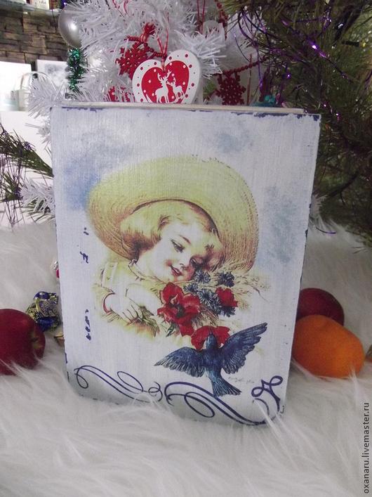 """Шкатулки ручной работы. Ярмарка Мастеров - ручная работа. Купить Шкатулка"""" В гармонии с природой"""". Handmade. Белый, коробочка для подарка"""