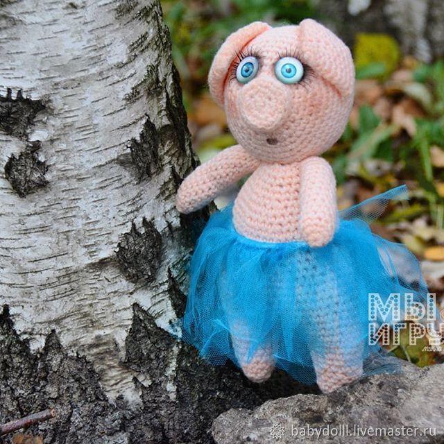 Toy handmade Belahruda Glafira