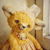 Куклы и игрушки handmade. Livemaster - original item She ate a bun:)... Fox, friends, Teddy.. Handmade.