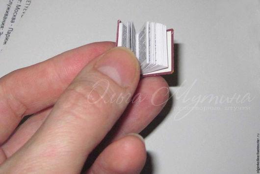 Миниатюра ручной работы. Ярмарка Мастеров - ручная работа. Купить Мини-книжки. Handmade. Комбинированный, бумага