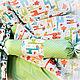 """Для новорожденных, ручной работы. Одеяло """"Жирафики"""". Baby Boom - текстиль для малышей. Ярмарка Мастеров. Одеяло детское, покрывало для мальчика"""