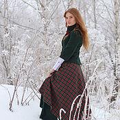 Одежда ручной работы. Ярмарка Мастеров - ручная работа Костюм юбка и жакет Рождественский. Handmade.