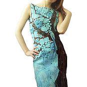 """Одежда ручной работы. Ярмарка Мастеров - ручная работа платье """"экзотическое дерево"""". Handmade."""