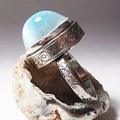 Украшения handmade. Livemaster - original item Ring with larimar