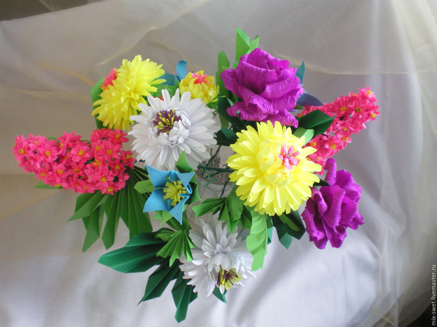 Master class flowers out of paper shop online on livemaster with florist arrangements handmade livemaster handmade buy master class flowers out of paper mightylinksfo Gallery