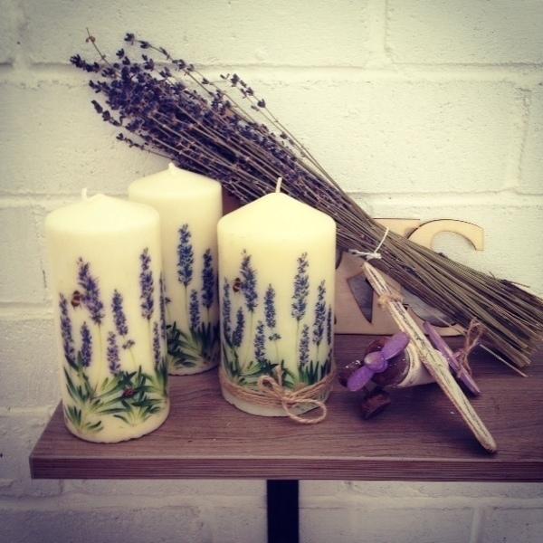 Candle Lavender, Candles, Krasnogorsk,  Фото №1