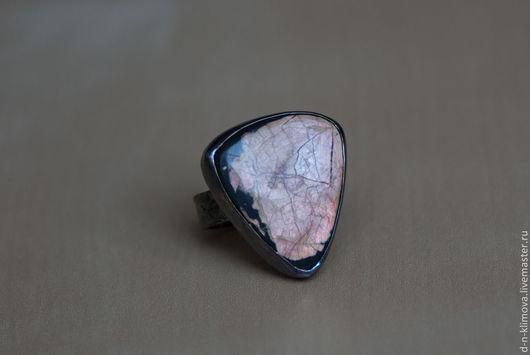"""Кольца ручной работы. Ярмарка Мастеров - ручная работа. Купить кольцо """"Prime"""", серебро, ископаемый перламутр. Handmade. Перламутр, древний"""
