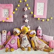 """Куклы и игрушки ручной работы. Ярмарка Мастеров - ручная работа """"Сплюшики пижамные"""". Handmade."""