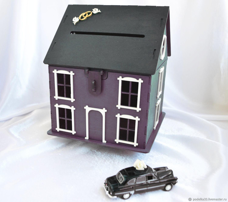 Wedding house Treasury two-color, purple, Chests, Balashikha,  Фото №1